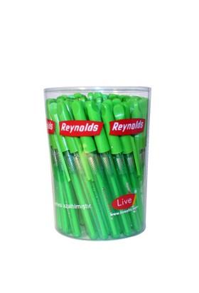Reynolds Uzun Yeşil Tükenmez Kalem