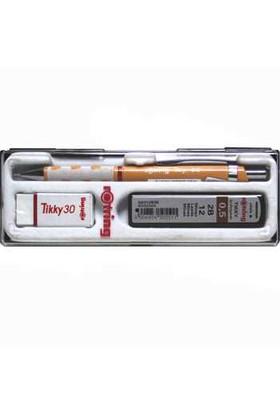 Rotring Tikyy Okul Seti Yavruağzı Versatil + Silgi +Min Blister 0.5 Mm Kalem Set