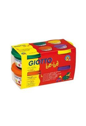 Giotto Bebe Süper Oyun Hamuru 4X100Gr Sarı Yeşil Turuncu Mor 464903