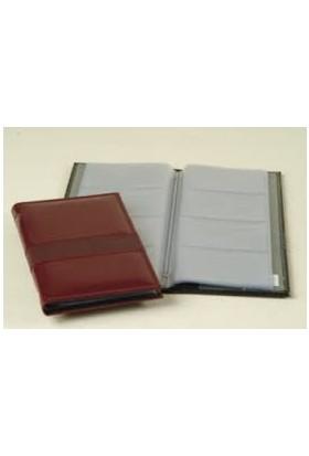 Lızy 424Tp Thermo Parçalı S.Deri Kartvizit Albüm 24Lü 11,5X20