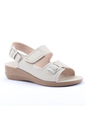 Gezer 4321 Ortopedik Günlük Cırtlı Hac Ümre Kadın Sandalet