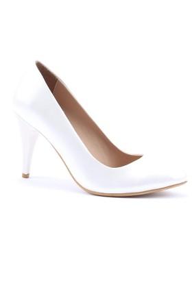 Obims Stiletto Rugan Topuklu Ayakkabı