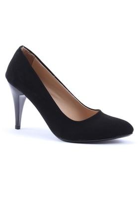 Obims Stiletto Süet Topuklu Ayakkabı