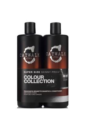 Tigi Catwalk Fashionista Brunette Şampuan 750Ml + Krem 750Ml