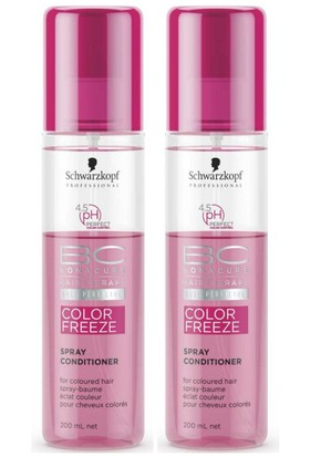 Bonacure Color Freeze Spray Saç Kremi 2 X 200Ml