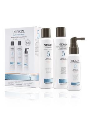 Nioxin System Kit 5 Medium Thick Doğal Ve Boyalı Saçlar İçin Set