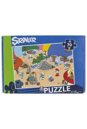 Şirinler 70 Parça Puzzle