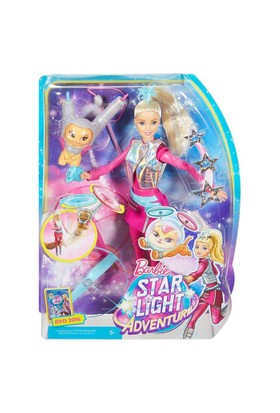 Barbie Uzay Macerası Yıldız Prensesi ve Kedisi DWD24