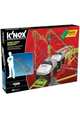 K'Nex Double Doom Roller Coaster Set (Motorlu) Thrill Rides 55402