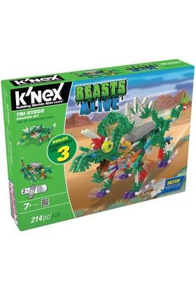 K'Nex Tri-Stego Yapım Seti (Motorlu) Beasts Alive 34484