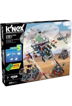 K'Nex 5 in 1 Model Savaş Seti (Motorlu) Building Set 31480