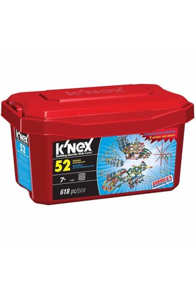 K'Nex 52 Farklı Model Building Set 13465