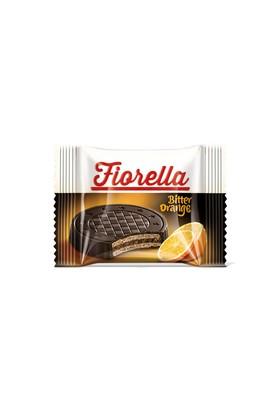 Fıorella Bitter Çikolatalı Portakal Kremalı Gofret 20 gr X 3 Adet