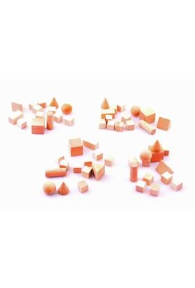 Nani Toys 56 Parça Ahşap Blok Seti