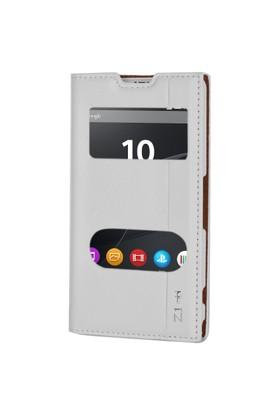 Gpack Sony Xperia Z1 Compact Kılıf Kapaklı Milano