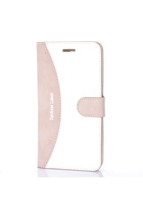 Cep Market Asus Zenfone 2 Laser 5.0 Kılıf Deri Cüzdan Kartvizitli
