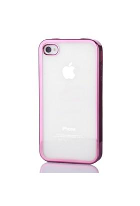 Gpack Apple İphone 4/4S Kılıf 0.3MM Lazer Silikon