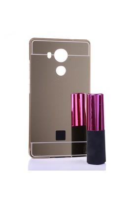 Gpack Huawei Ascend Mate 8 Kılıf Aynalı Metal Bumper