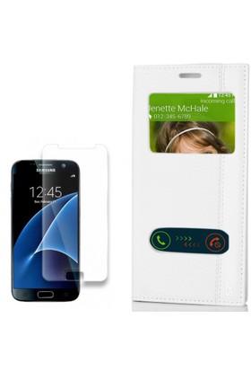 Gpack Samsung Galaxy S7 Kapaklı Kılıf Magnum