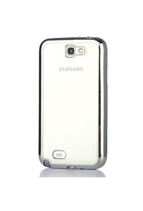 Gpack Samsung Galaxy Note 2 Kılıf 0.3MM Lazer Silikon