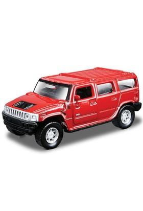 Maisto 2003 Hummer H2 Suv 1:36 Çek Bırak Metal Oyuncak Araba
