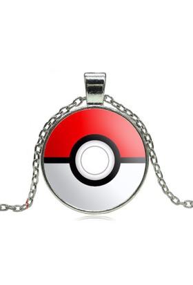Pokemon Silver Rengi Metal Kolye dg29