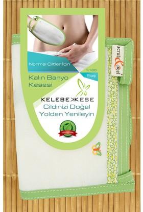 Kelebek Kese Scrub And Peel Kalın Banyo Kesesi - Normal Ciltler İçin