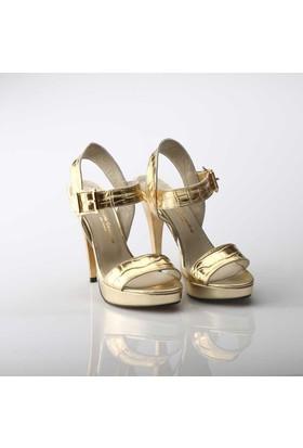 Modabuymus Dore Anakonda Platform Topuk Ayakkabı