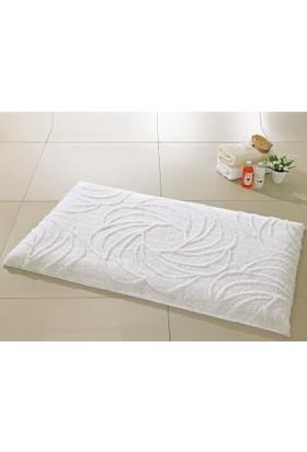 Confetti Alara Karbeyaz Banyo Halısı 60X100 Cm
