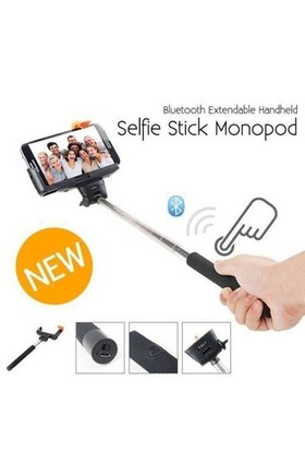 Selfie Çubuğu Monopod Bluetooth Özellikli Z07-5 Siyah