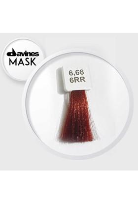 Davines Mask Boya 6.66 / 6RR Kestane Kumral