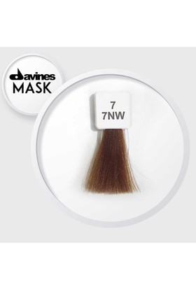 Davines Mask Boya 7 / 7NW Orta Kumral