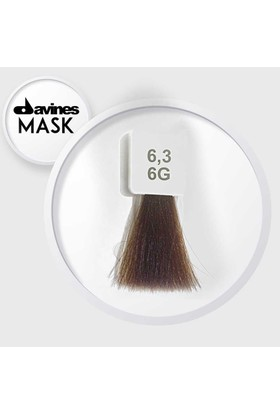 Davines Mask Boya 6.3 / 6G Koyu Altın Kumral