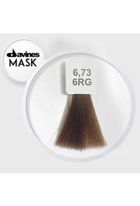 Davines Mask Boya 6.73 / 6RG Koyu Bej Altın Kumral