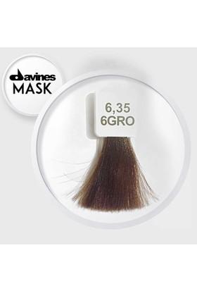 Davines Mask Boya 6.35 / 6GRO Koyu Altın Maun