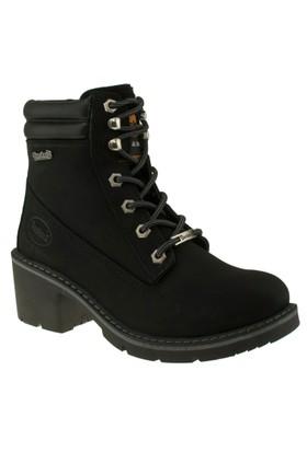 Dockers 219290 Topuklu Casual Siyah Kadın Bot