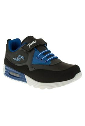 Jump 14132F Tek Cirt Lastik Bağcik Siyah Çocuk Spor Ayakkabı