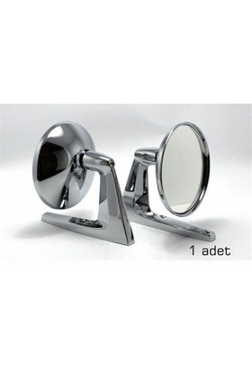Ayna Dış Amerikan Kromaj Yuvarlak