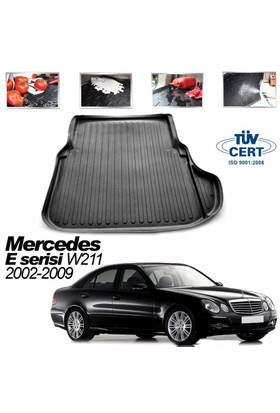 Mercedes E W 211 Sedan Bagaj Havuzu Siyah 2002-2009