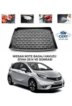 Nissan Note Bagaj Havuzu Siyah 2014 Ve Sonrası