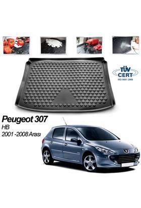 Peugeot 307 Hb Bagaj Havuzu Siyah 2001-2008