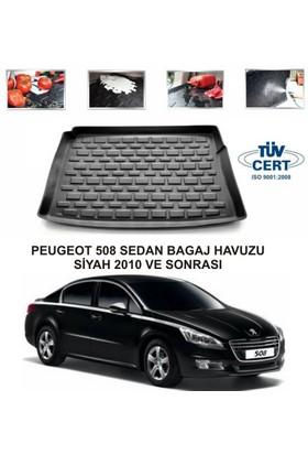 Peugeot 508 Sedan Bagaj Havuzu Siyah 2010 Ve Sonrası
