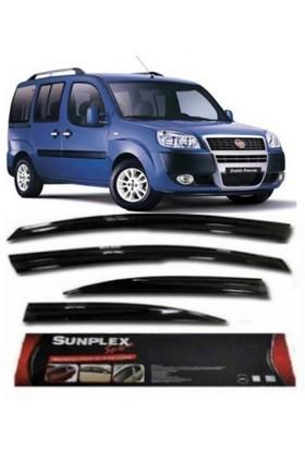 2 Li Fiat Doblo 1 Sport Style Sunplex Cam Rüzgarlığ