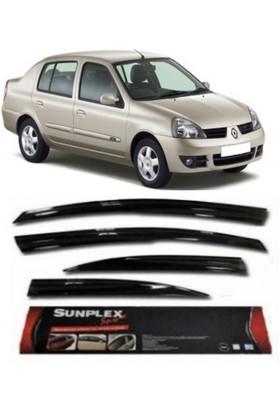 4 Lü Renault Symbol 98-2006 Mügen Tipi Sport Style Sunplex Cam Rüzgarlığı