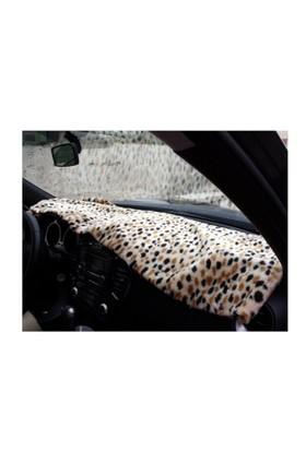 Peluş Örtü Taxi Kahverengi