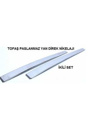 Tofaş Orta Direk Kromu (2Adet) Paslanmaz Çelik