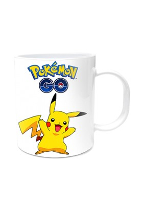 Pokemon Tasarımlı Kupa Bardak Pikachu