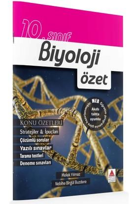 Delta Kültür Basım Yayın 10. Sınıf Biyoloji Özet - Melek Yılmaz