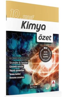 Delta Kültür Basım Yayın 10. Sınıf Kimya Özet - İlker Yücel