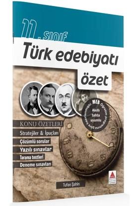 Delta Kültür Basım Yayın 11. Sınıf Türk Edebiyatı Özet - Tufan Şahin